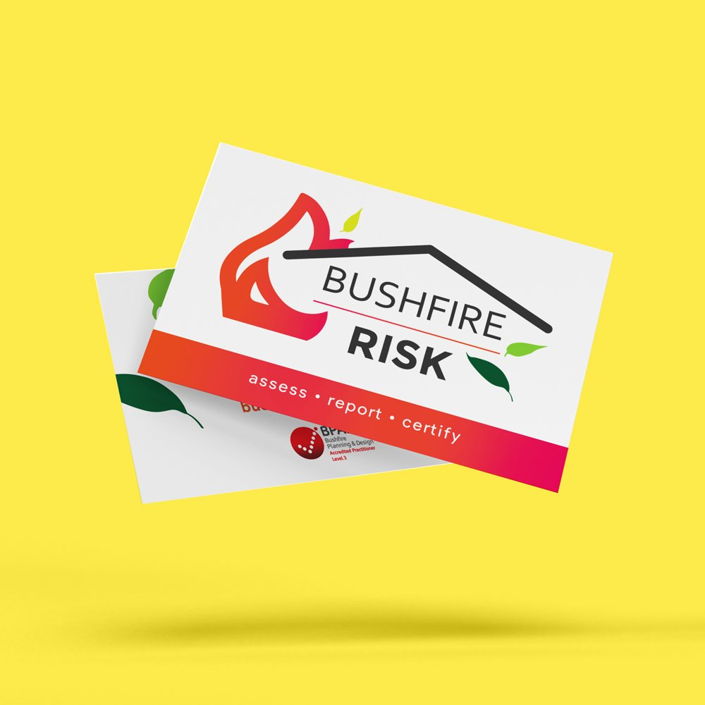 Bushfire Risk - Business Cards 7