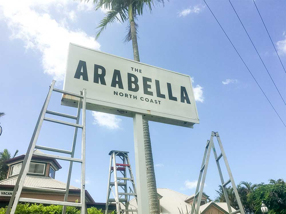 The Arabella - Logo Design 5